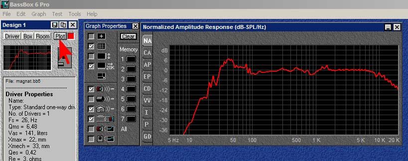 Программу для расчета акустических систем